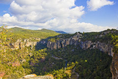 High mountains in Spain Royalty Free Stock Image