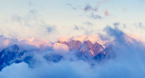 High mountains Stock Images