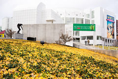 High Museum of art in midtown Atlanta, USA royalty free stock photo