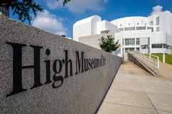 High Museum in midtown Atlanta Stock Photography