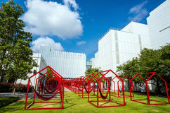 High Museum in midtown Atlanta royalty free stock photography