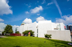 High Museum in midtown Atlanta stock photos