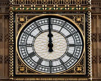 High noon at Big Ben, London,UK Royalty Free Stock Photography