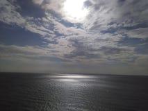 High noon. PCB Front Beach Road Florida Royalty Free Stock Photo
