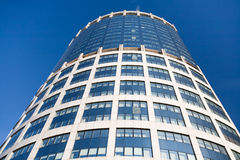 High office building at sunny day Royalty Free Stock Photography
