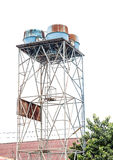 High old  water tank Stock Image