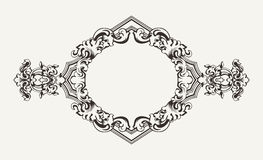 High Ornate Rhombus Frame Royalty Free Stock Photos