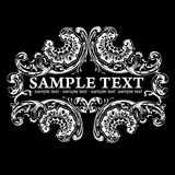 High Ornate Vintage Banner Royalty Free Stock Photos