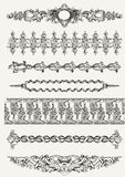 High Ornate Vintage Element Dividers Stock Photos