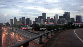 High Overpass Houston Texas Transportaion Infrastructure stock footage