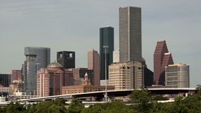 High Overpass Houston Texas Transportaion Infrastructure stock video footage