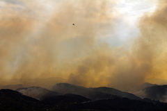 High Park Fire Burns Colorado Mountains Royalty Free Stock Image