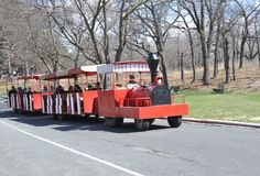 High Park's trackless train Royalty Free Stock Photo