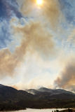 High Park Wildfire Colorado Royalty Free Stock Images