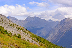 High Peaks of the Canadian Rockies Royalty Free Stock Image