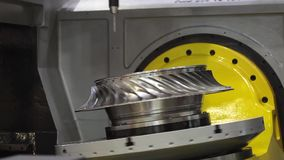 High-performance 5-axis CNC machining centre