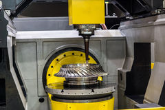 High-performance 5-axis CNC machining centre Stock Photos
