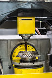 High-performance 5-axis CNC machining centre Royalty Free Stock Images
