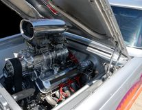 High performance car engine Stock Photography