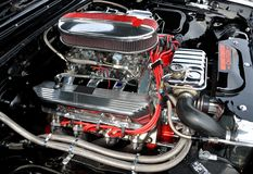 High performance car engine Royalty Free Stock Images