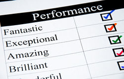 High Performance Checklist