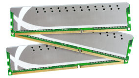 High performance computer memory Royalty Free Stock Photography