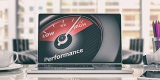 High performance concept. 3d illustration Stock Photo