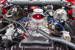 High Performance Engine Front Stock Photography