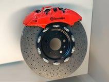 High performance Italian Brembo disc brake with caliper