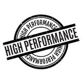 High Performance rubber stamp Stock Images