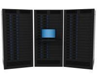 High Performance Servers Stock Image