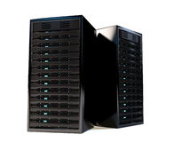 High performance servers. Royalty Free Stock Photography