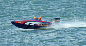 Free High Performance Speedboat Racing Stock Photos - 98187923