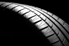 High-performance sport summer tire. royalty free stock images