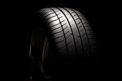 High-performance summer tire. Stock Photos