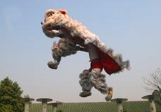 High pile lion Stock Photo