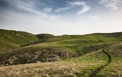 High plateau Ushkonyr Royalty Free Stock Photography