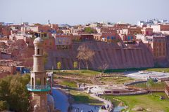 High Platform Folk Houses in Kashgar Royalty Free Stock Photography