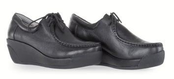 High platform shoes Royalty Free Stock Image