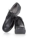 High platform shoes Stock Images