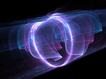High power electomagnetic energy field Royalty Free Stock Image