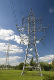 High-power lines Stock Photo