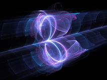High power looped energy field Royalty Free Stock Photos
