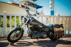 High power motorcycle Harley-Davidson Sportster Royalty Free Stock Image
