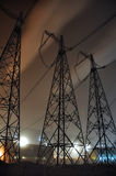 High power in night Stock Image