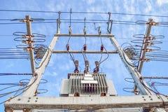 High power trasformer stock photos