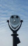 High powered binoculars Stock Photo