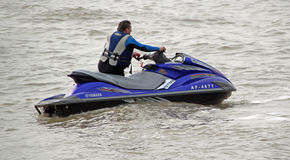 High powered jet ski Stock Photography