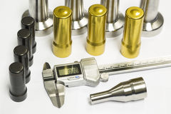 High precision automotive machining mold and die parts Royalty Free Stock Photography