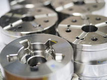 High precision automotive machining mold and die parts. Of forging process royalty free stock photos
